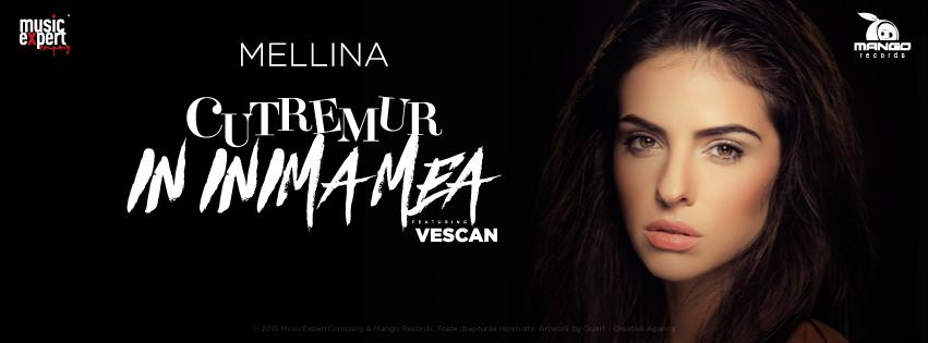 """Mellina si Vescan au lansat un nou single: """"Cutremur in inima mea"""""""