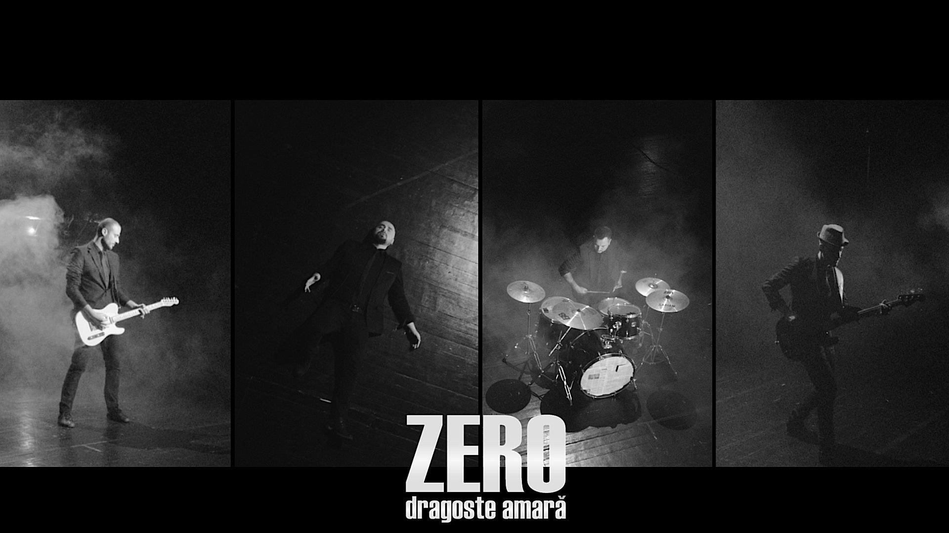 """Trupa Zero lanseaza un nou single, """"Dragoste amara"""""""