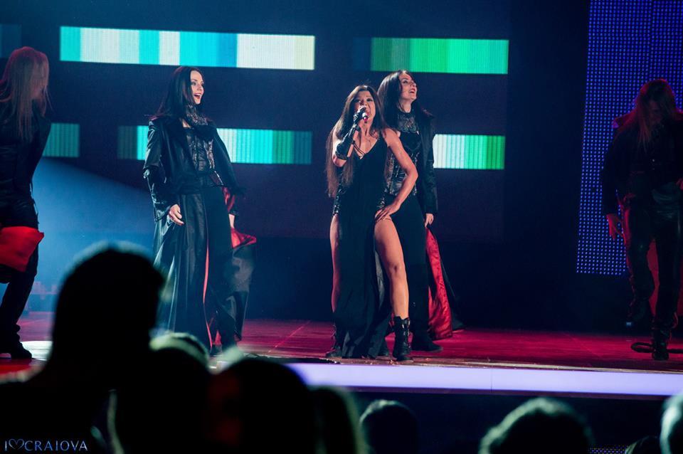 Ruslana – show incendiar pe scena Selectiei Nationale Eurovision Romania