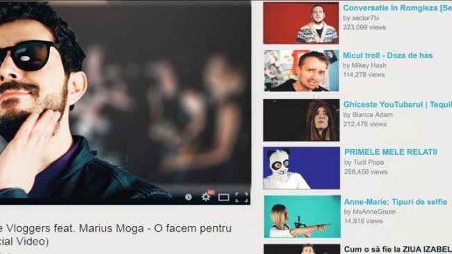 """YouTube Vloggers si Marius Moga lanseaza piesa si videoclipul """"O facem pentru voi"""""""