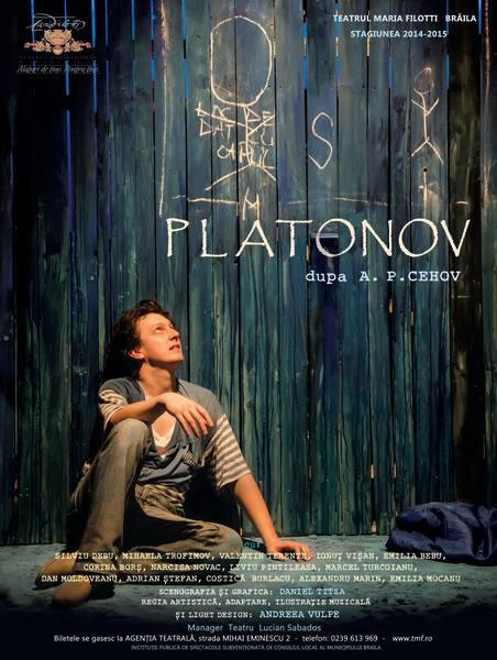 """Succes dupa succes pentru """"Platonov""""- noua provocare a Teatrului """"Maria Filotti"""" Braila"""