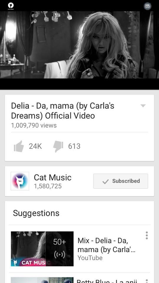 """Delia – inca un record cu """"Da, mama"""""""