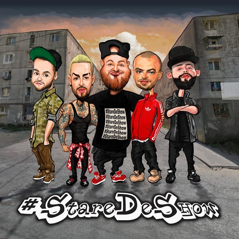 """Boier Bibescu lanseaza clipul """"Stare de Show"""", alaturi de Puya, Jon Baiat Bun, Rashid si Alex Velea"""