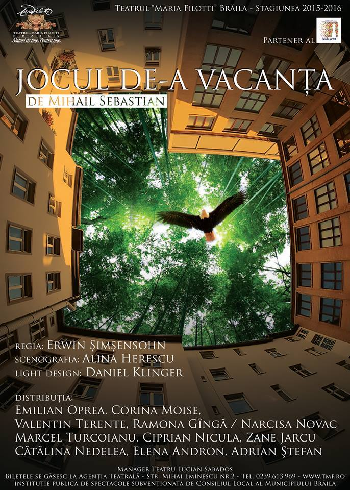Teatrul Maria Filotti Braila  isi deschide stagiunea de toamna