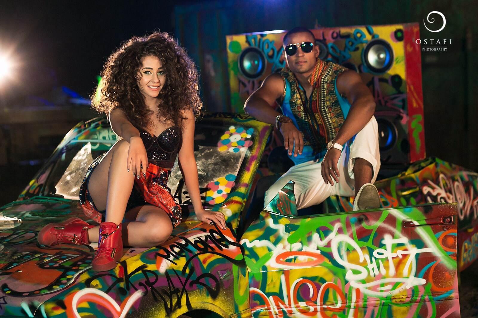 Nicole Cherry a lansat alaturi de Mohombi videoclipul pentru 'Vive la vida', unul din hiturile europene ale acestei toamne