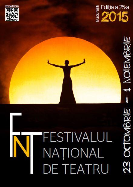 Astazi incepe Festivalul National de Teatru, editia a 25-a!