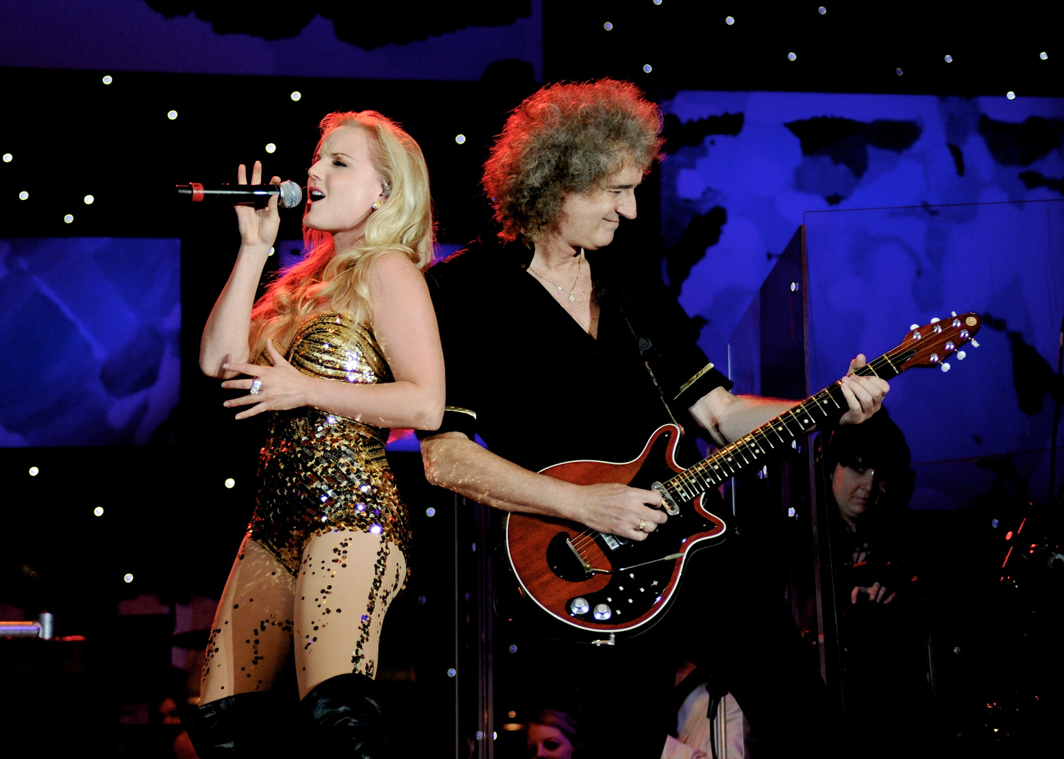 Concert extraordinar Brian May & Kerry Elis la Bucuresti