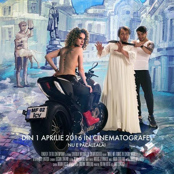 """""""Minte-ma frumos in Centrul Vechi"""" se lanseaza in cinematografele din Romania pe 1 aprilie!"""