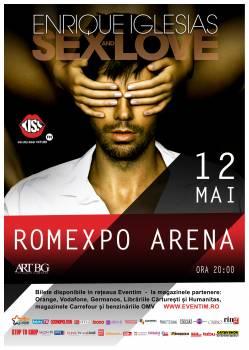 Noi categorii de bilete pentru concertul  ENRIQUE IGLESIAS de la Bucuresti