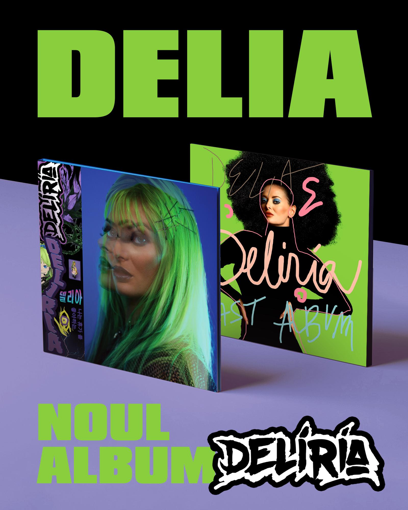 Deliria   – Primul album cu coperta lenticulara din Romania