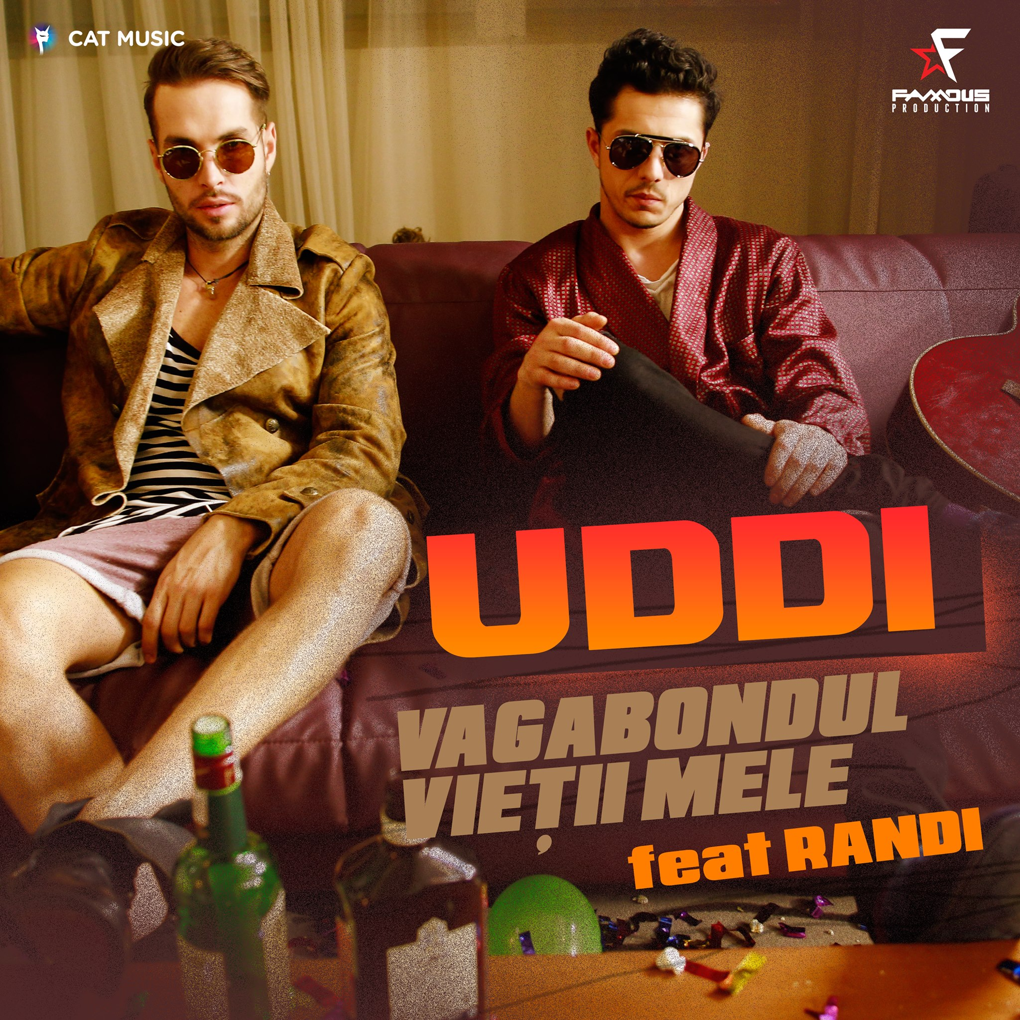 """Uddi si Randi lanseaza single-ul si videoclipul """"Vagabondul vietii mele"""""""