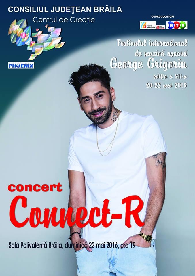Connect-R in recital in seara de gala a festivalului George Grigoriu Braila