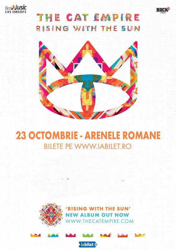 Cat Empire in super concert la Bucuresti – Arenele Romane