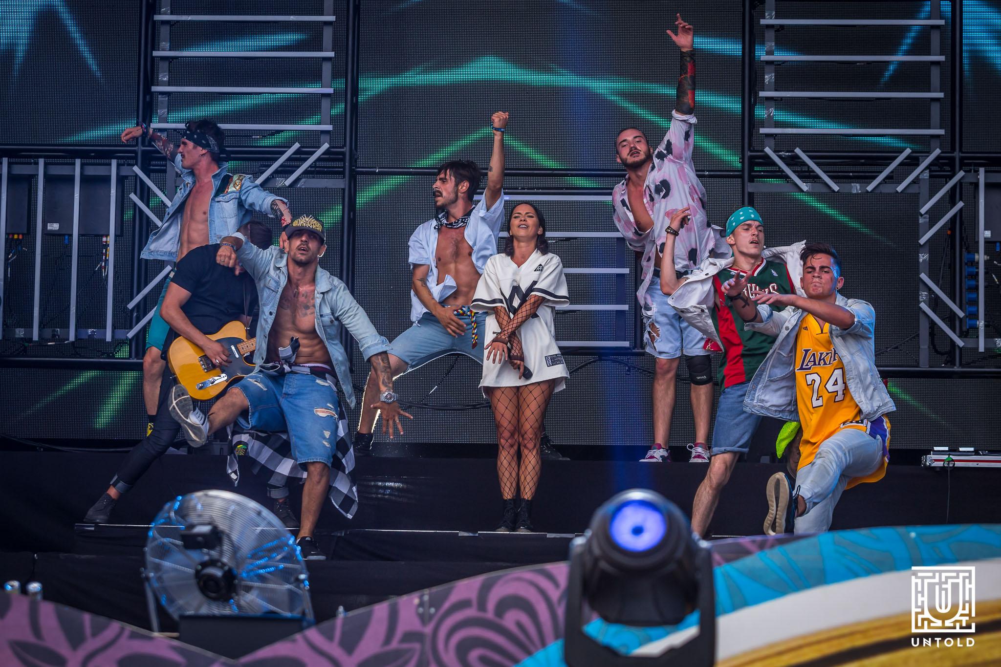 INNA a deschis festivalul UNTOLD de la Cluj printr-un show de senzatie pe Cluj Arena