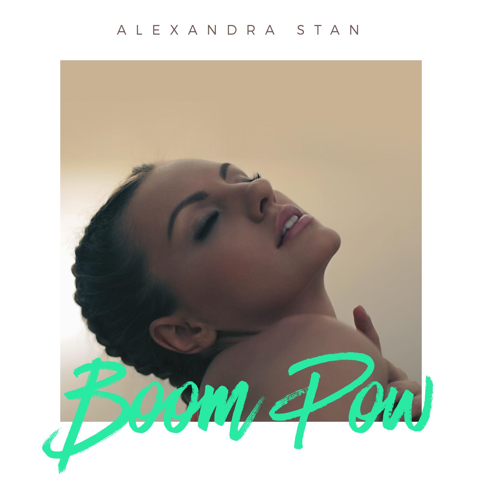"""Alexandra Stan sarbatoreste succesul """"Ecoute"""" prin lansarea unui  online video pentru fani:  """"Boom Pow"""""""