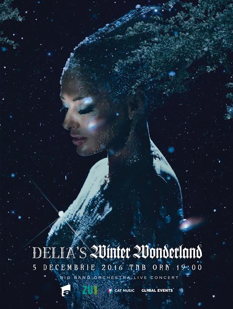 Delia's Winter Wonderland – 5 decembrie, Teatrul National din Bucuresti