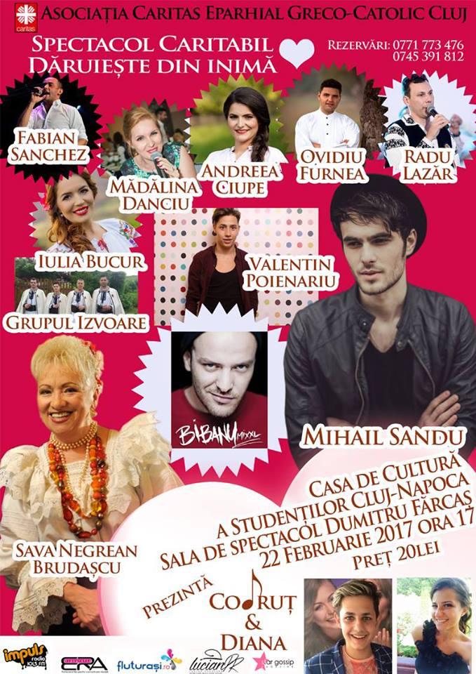 Ambitiosii si inimosii tineri Codrut Moldovan si Diana Bucur pregatesc un nou eveniment caritabil in Cluj