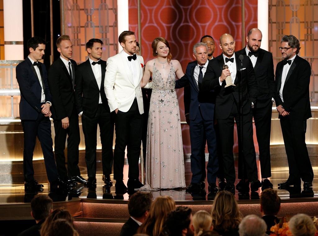 """""""La La Land"""", marele castigator al premiilor Globurile de Aur 2017"""