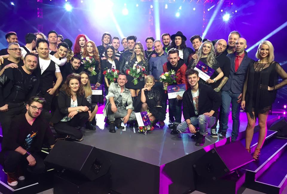 15 melodii pentru semifinala Eurovision Romania
