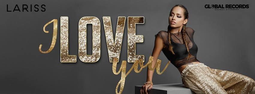 """Lariss lanseaza o piesa speciala de ziua indragostitilor special pentru fanii ei """"I Love You"""""""