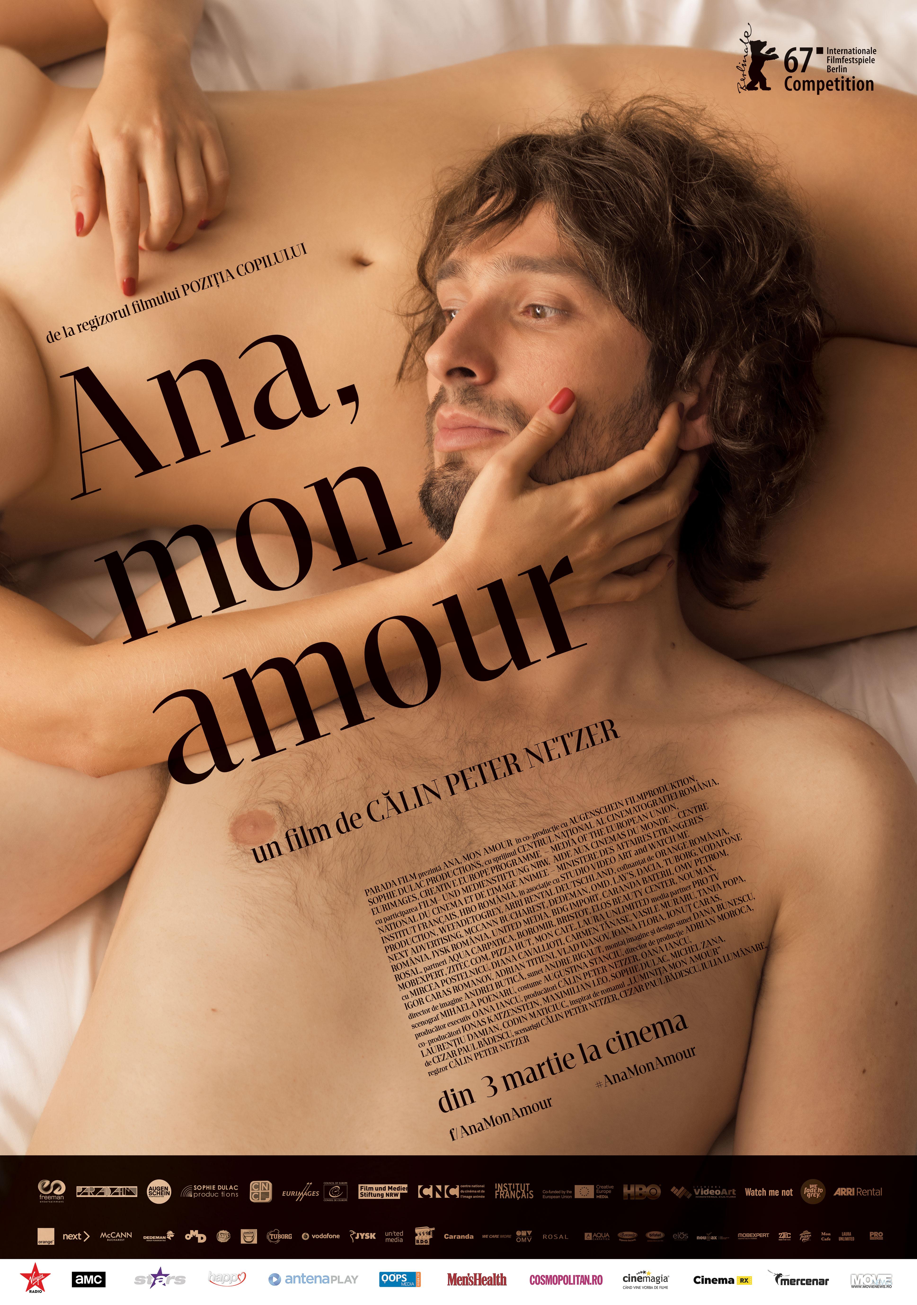 """Filmul ,,Ana, mon amour"""" a castigat Ursul de Argint pentru ,,Contributie Artistica Deosebita in Cinematografie"""", in cadrul celei de-a 67-a editii a Festivalului International de Film de la Berlin"""