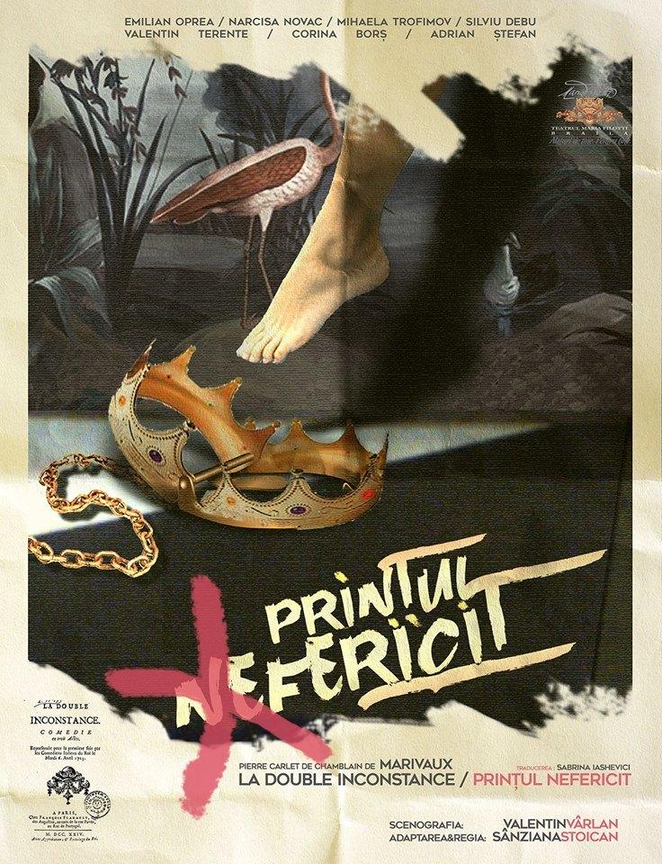 """""""Printul nefericit"""" – o noua premiera de poveste la Teatrul """"Maria Filotti"""" Braila"""