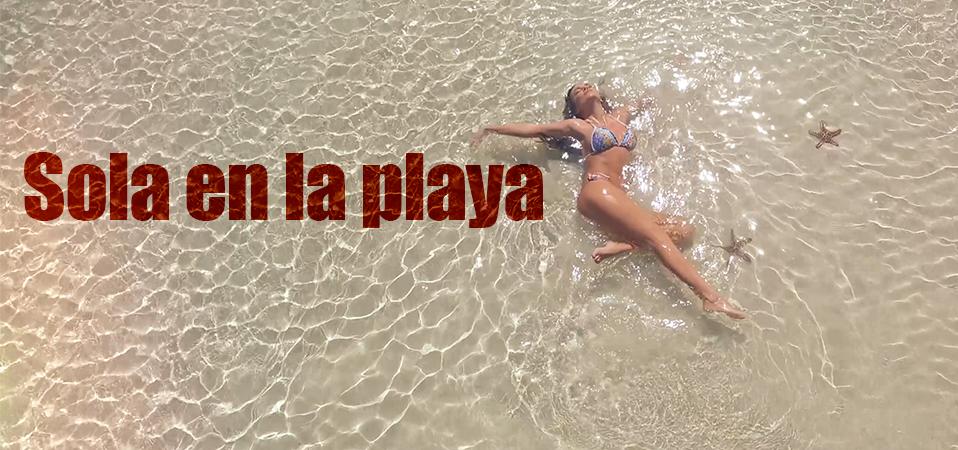 """Anna Lesko lanseaza single-ul si videoclipul """"Sola En La Playa"""""""