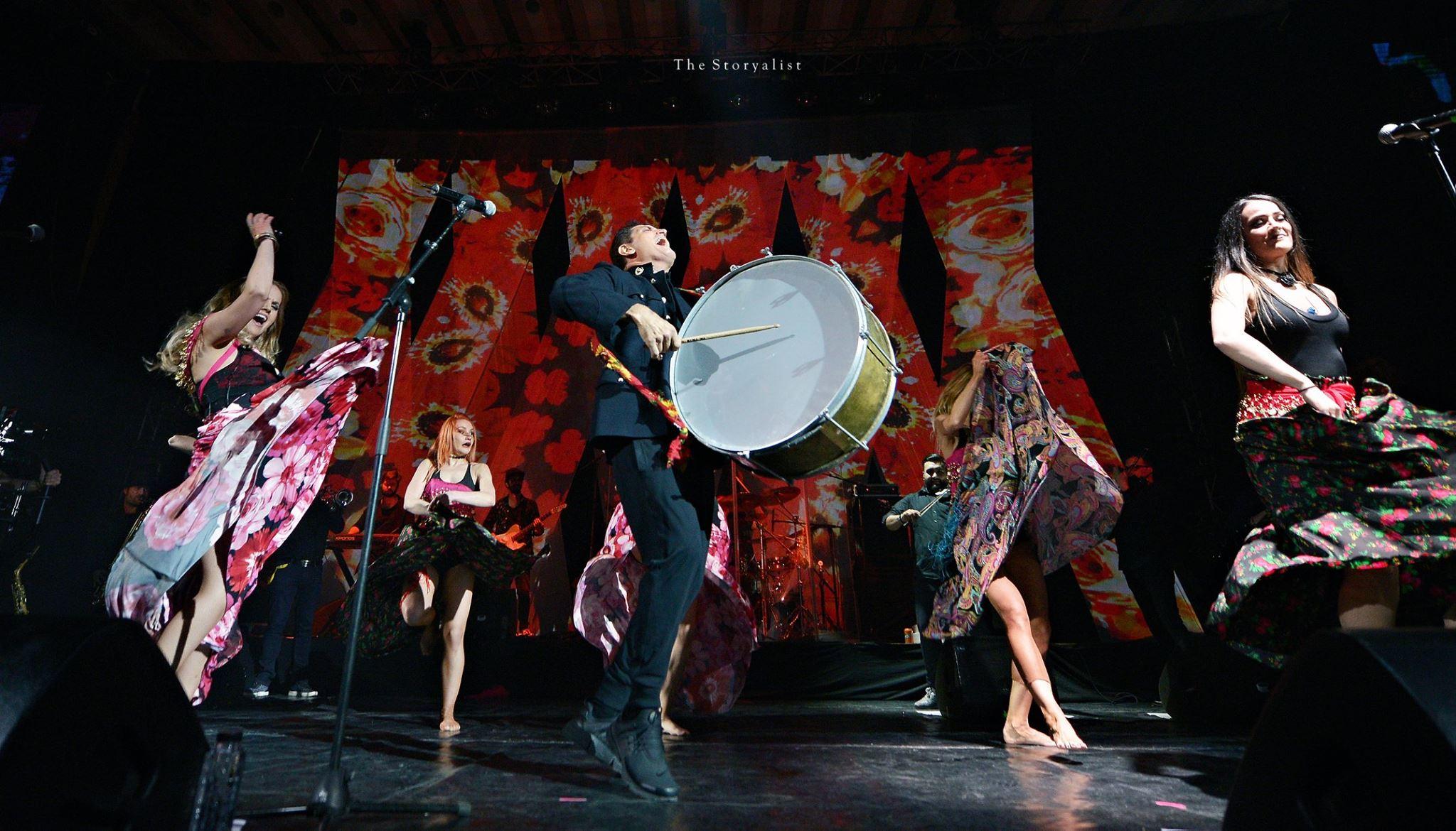 Damian & Brothers – Gypsy Rock –  un concert plin de energie si culoare, evenimentul muzical cu cei mai multi artisti prezenti pe scena Salii Palatului