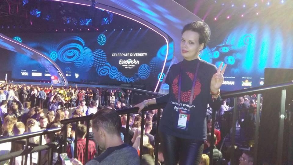 Experienta Eurovision 2017 traita de echipa Star Gossip Magazine la Kiev