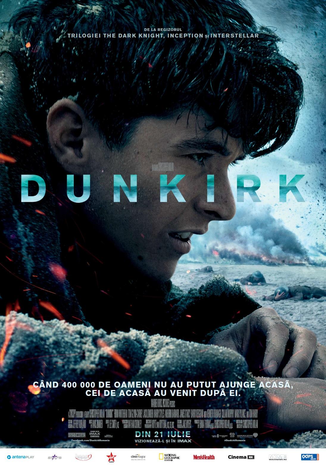 """,,Dunkirk"""" a triumfat in lupta pentru suprematia box office-ului romanesc"""