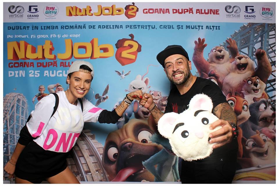 Vedetele intra in goana dupa alune o data cu premiera noului film, 'Nut Job 2″