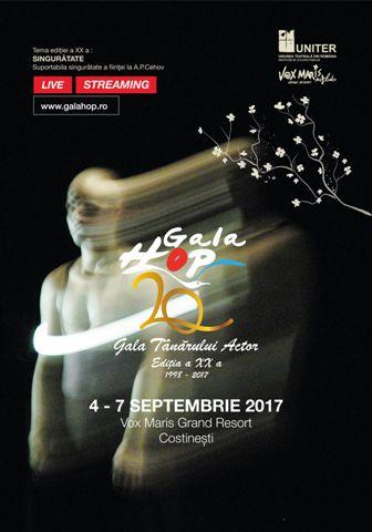 Gala Tanarului Actor – Hop va avea loc in luna septembrie la Costinesti