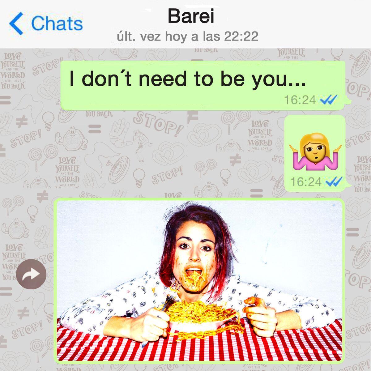 "Barei lanseaza single-ul ""I Don't Need To Be You"" in Romania"