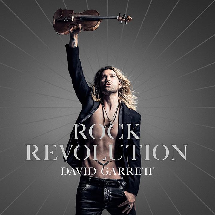 "De la revolutie la evolutie, David Garrett revine cu albumul ""Rock Revolution"""