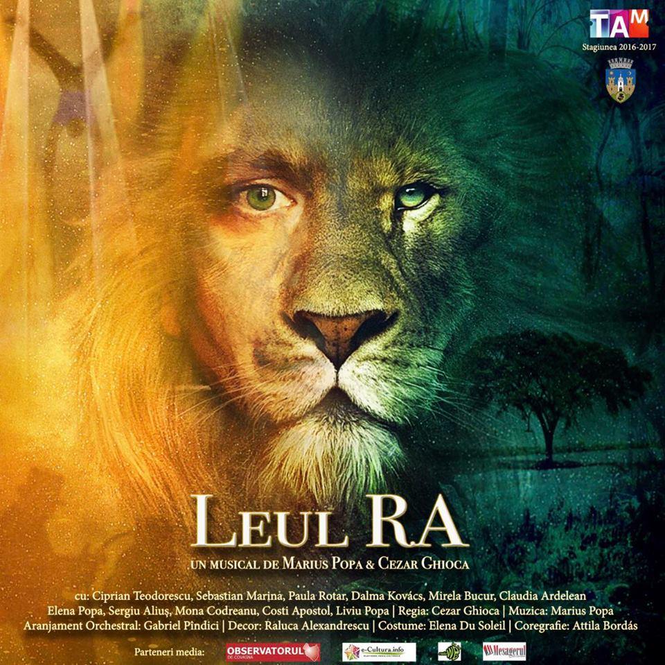 """Musicalul """"Leul Ra"""" se joaca pe scena Teatrului """"Maria Filotti"""" din Braila"""