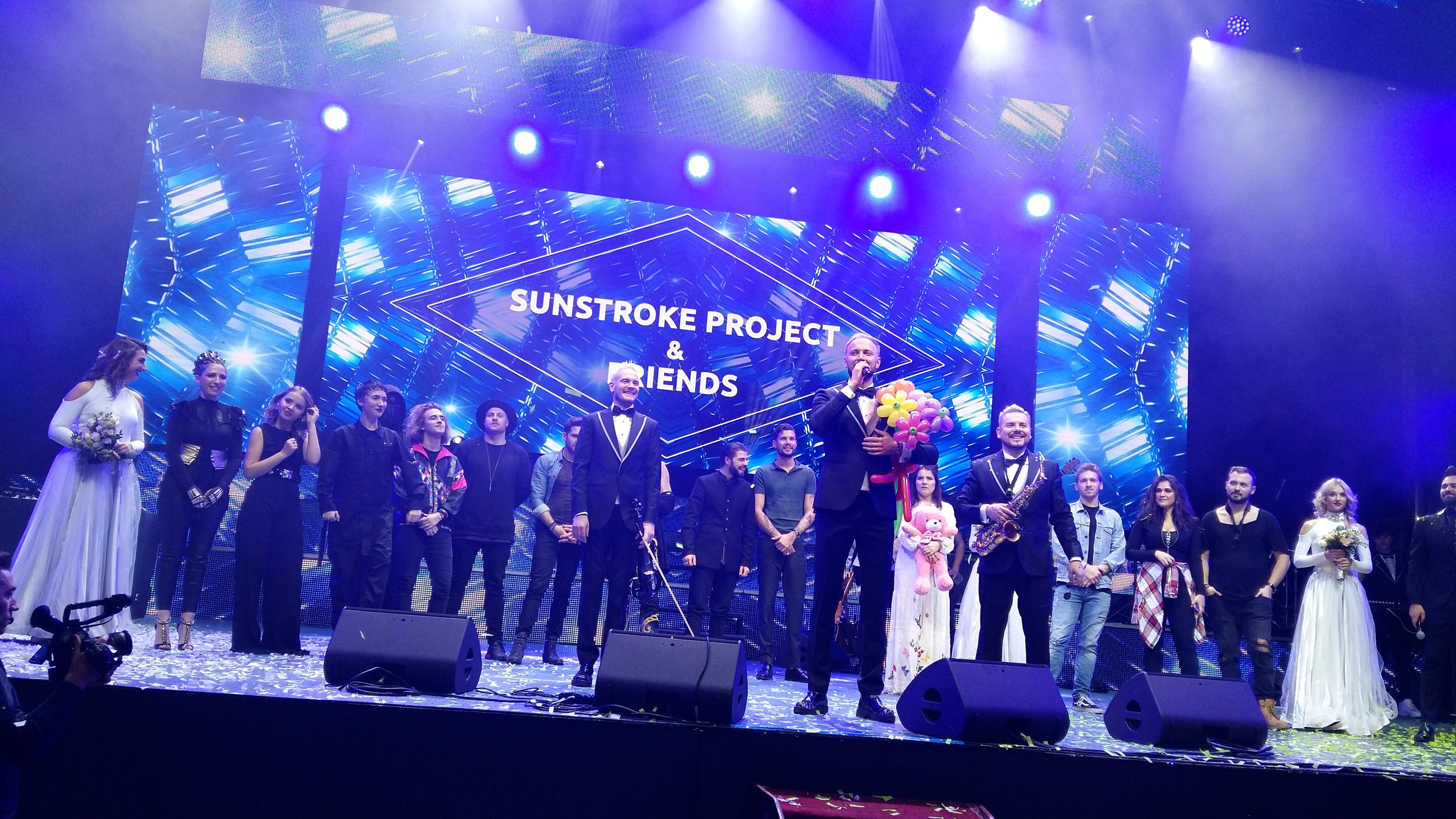 EXCLUSIV! Sunstroke Project au aniversat 10 ani de succes  intr-un super show alaturi de o parte din participantii la Eurovision 2017 | FOTO & VIDEO