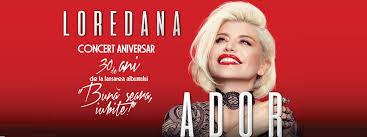 """Loredana lanseaza albumul """"Ador"""" in cadrul concertelor de la Sala Palatului"""