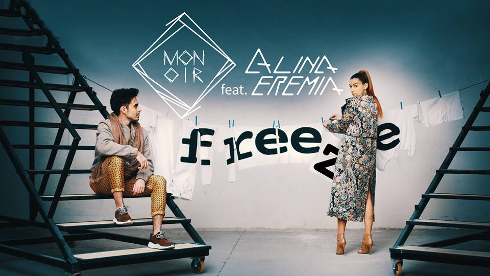 """""""Freeze"""": Monoir, artistul care a cucerit lumea, colaboreaza cu Alina Eremia"""