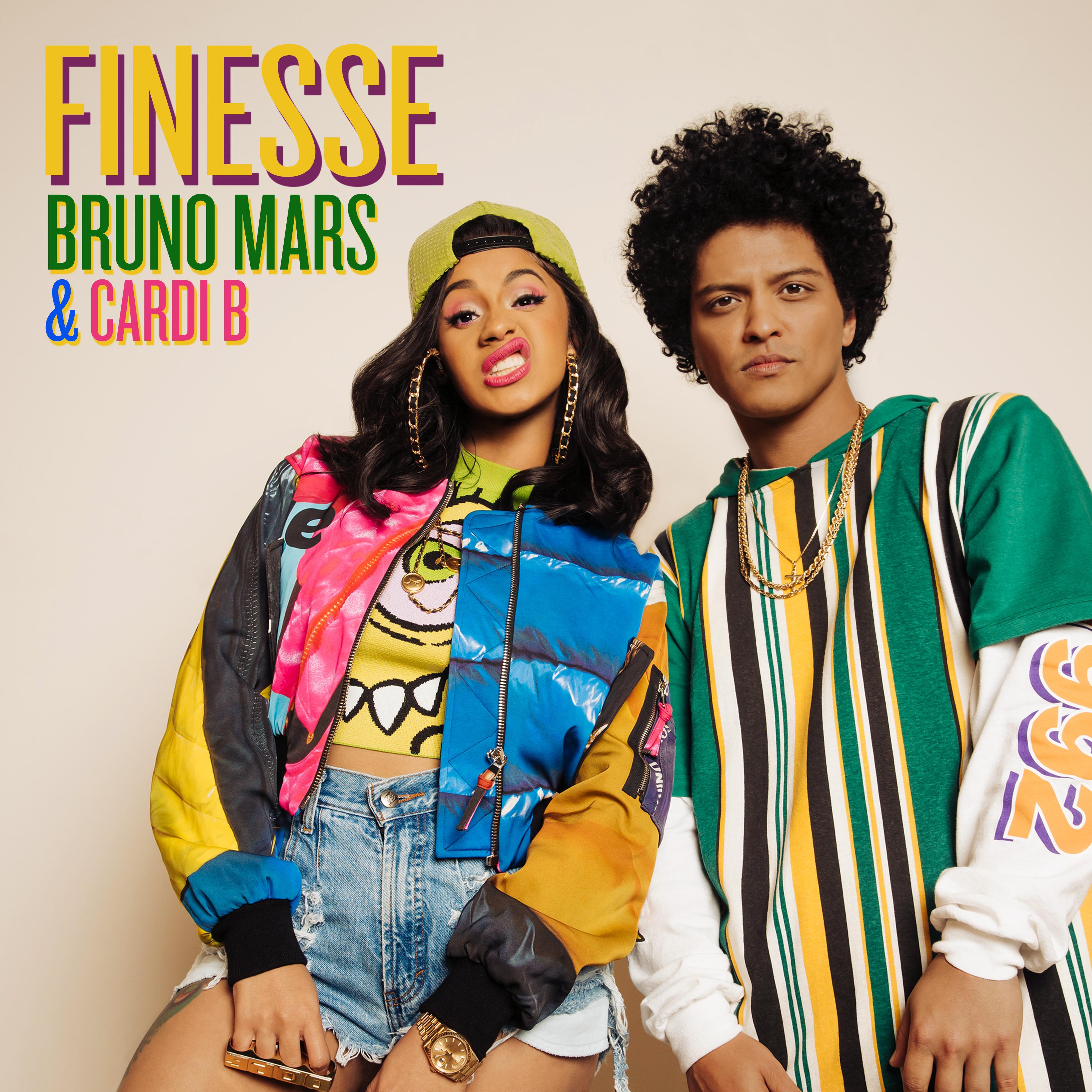 BRUNO MARS & CARDI B – FINESSE