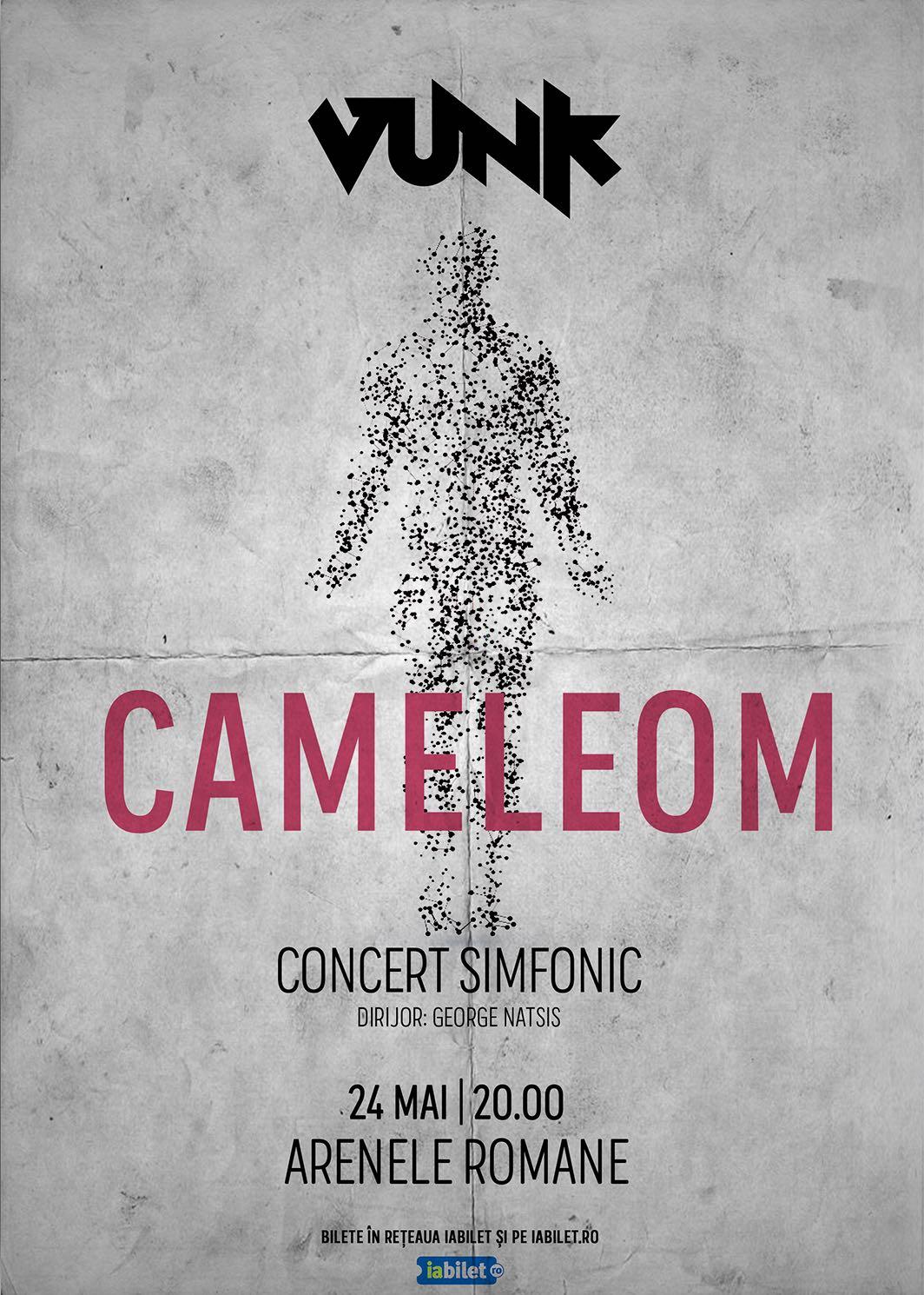 Trupa VUNK a descoperit o noua specie de om: CAMELEOM!
