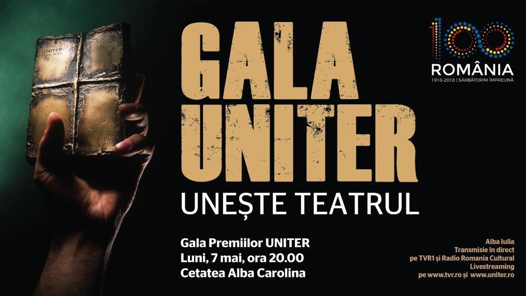 Gala Premiilor UNITER uneste Teatrul