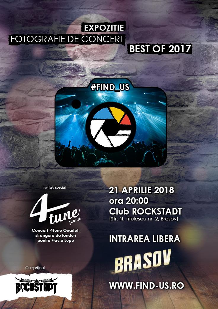 Expozitie caritabila organizata de #Find_Us si sustinuta de Club Rockstadt din Brasov