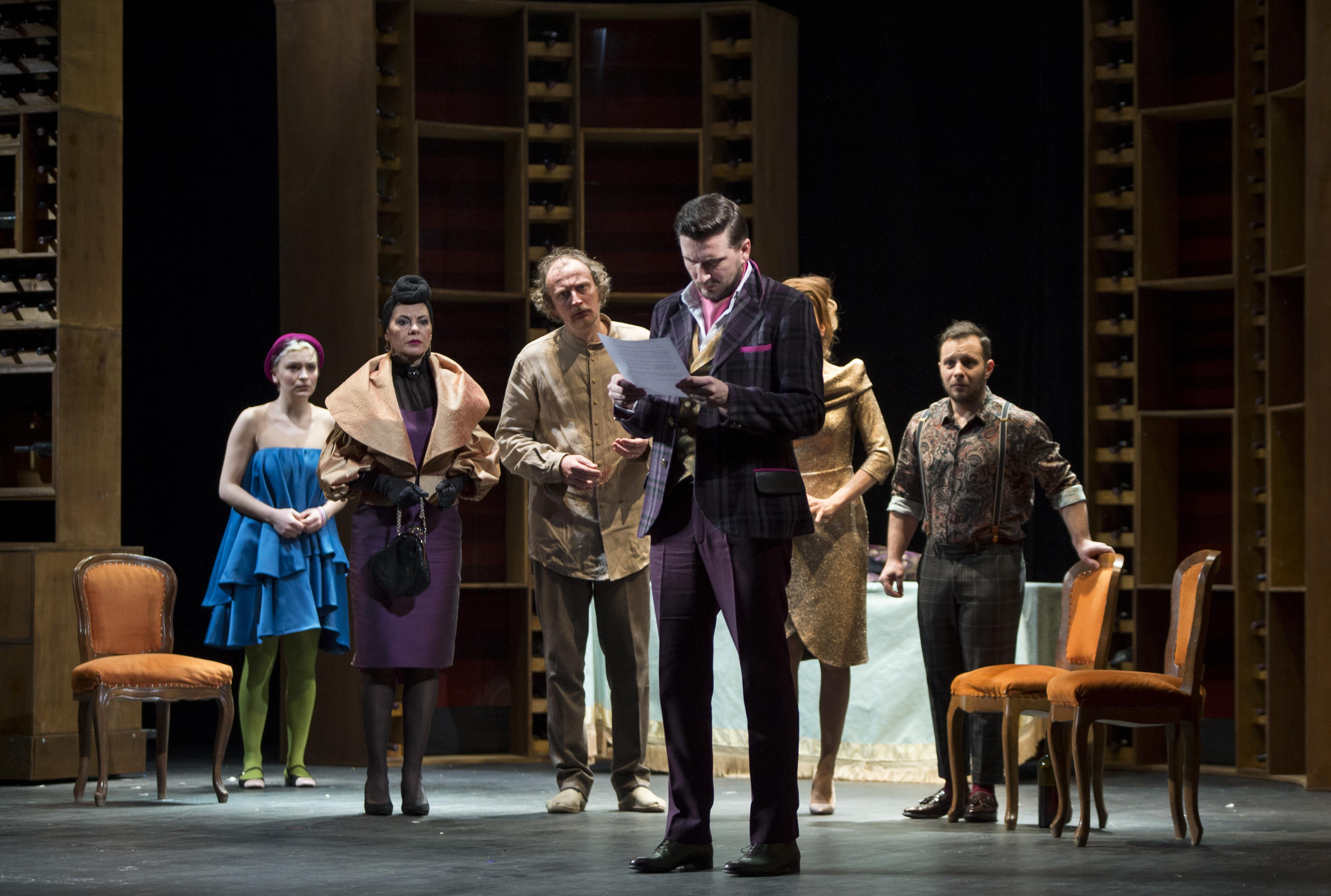 """""""Tartuffe"""" – spectacolul TMF Braila se joaca la Teatrul Odeon din Bucuresti"""