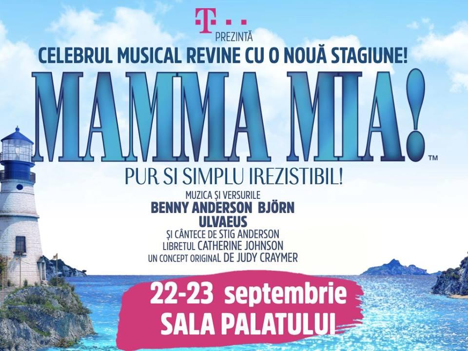 """""""MAMMA MIA!"""" revine la Bucuresti!"""