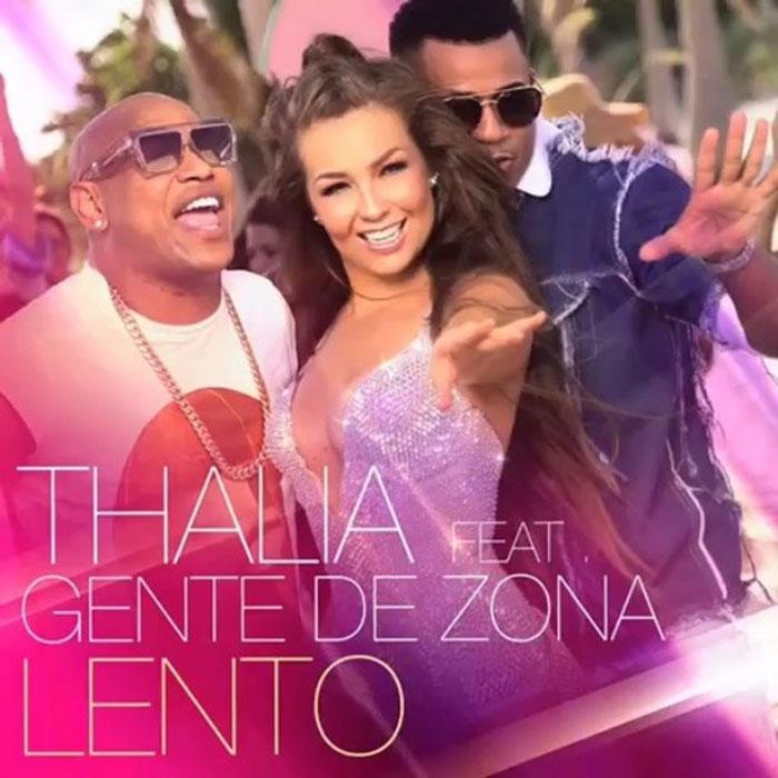 """Thalia a lansat un videoclip caliente alaturi de Gente de Zona – """"Lento"""""""