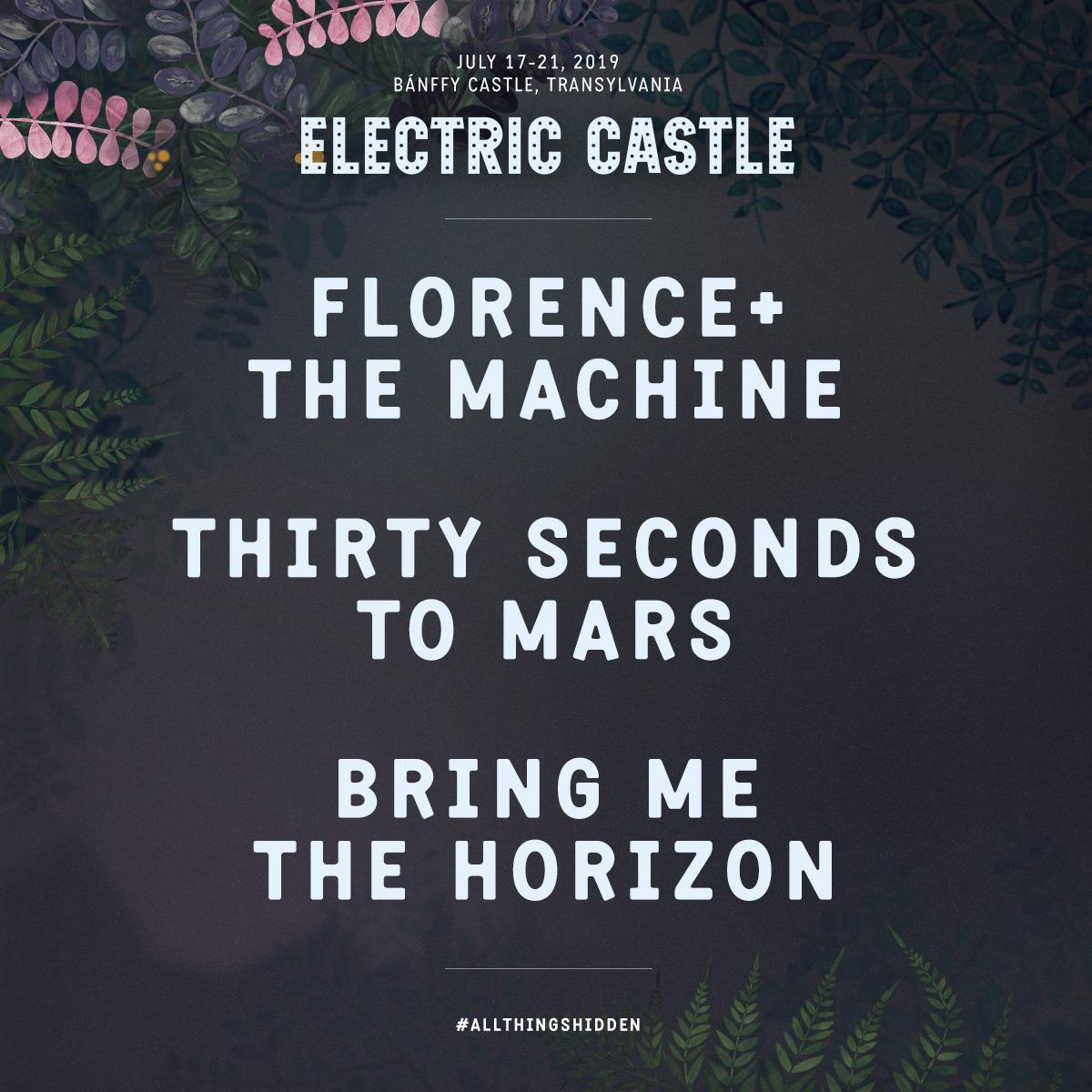 Electric Castle Festival anunta headliner-ii pentru editia din 17 – 21 iulie 2019 + multe alte nume importante din rock, house si electro