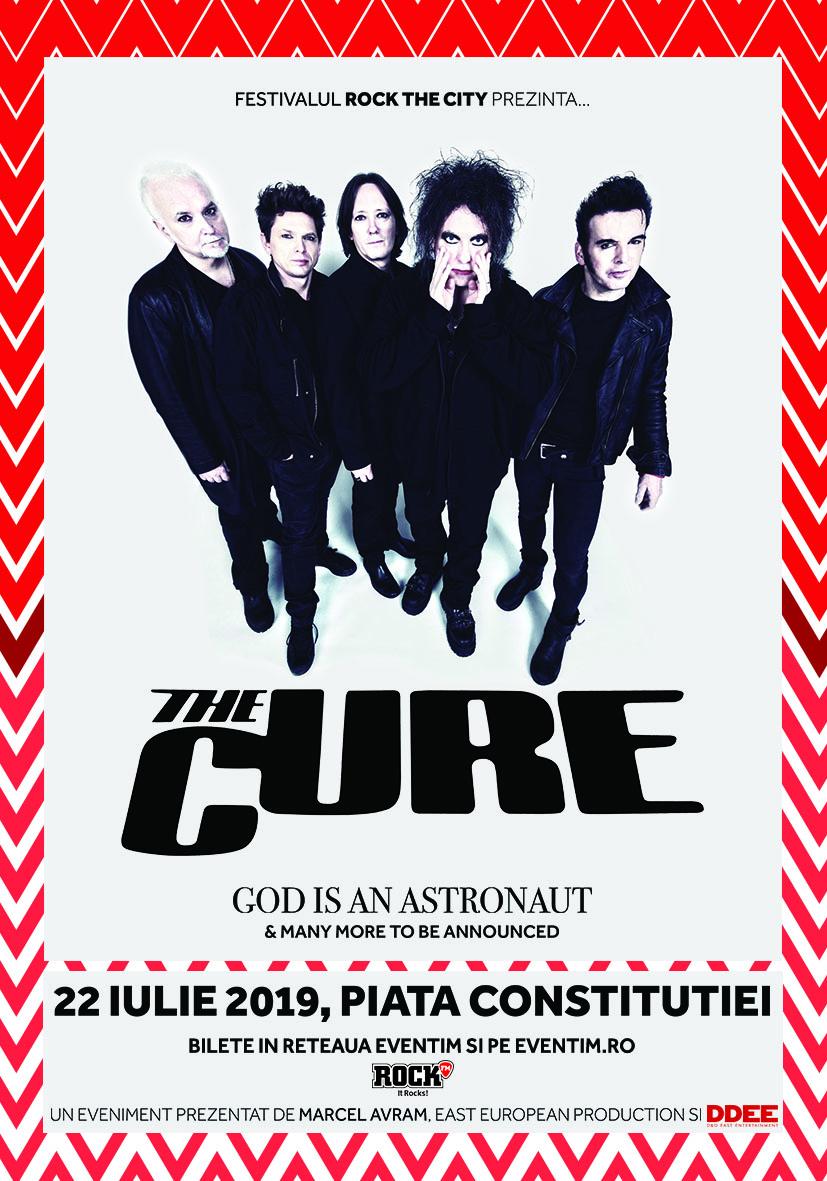 Concert in premiera – THE CURE vin in Romania!