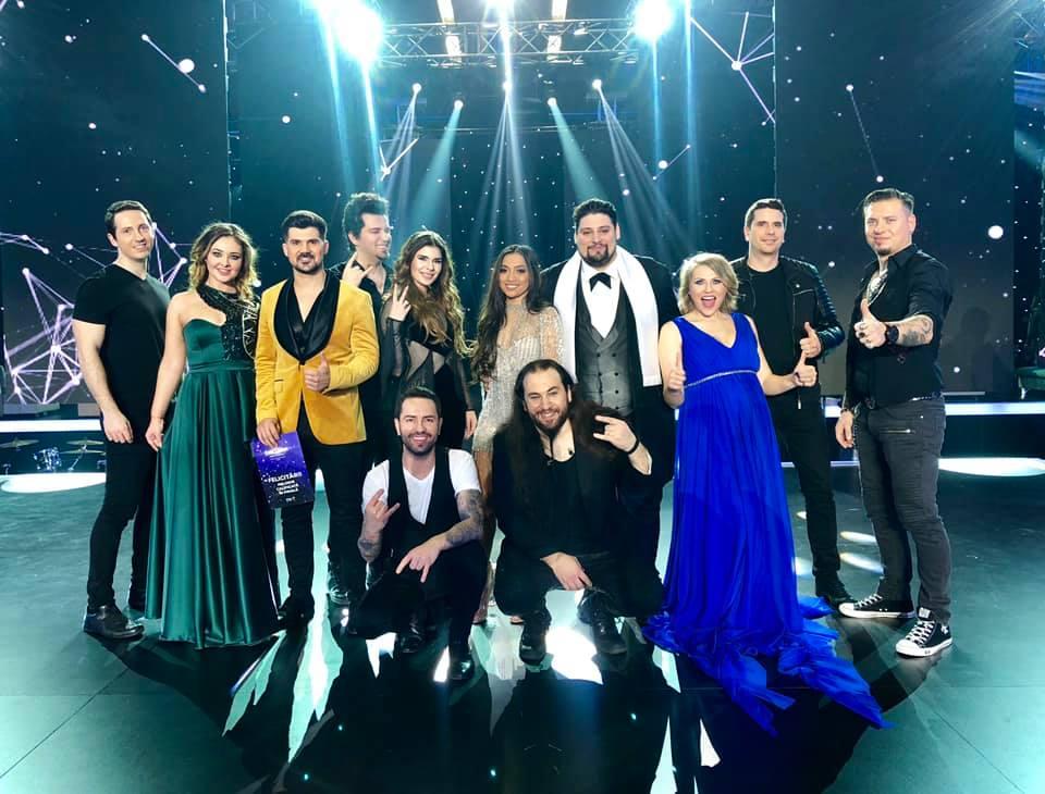 Eurovision Romania: sase piese s-au calificat din prima semifinala