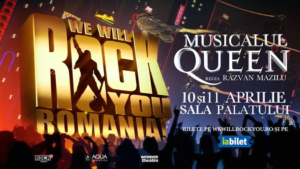 S-au pus in vanzare ultimele locuri la marea premiera We Will Rock You din 10 aprilie.