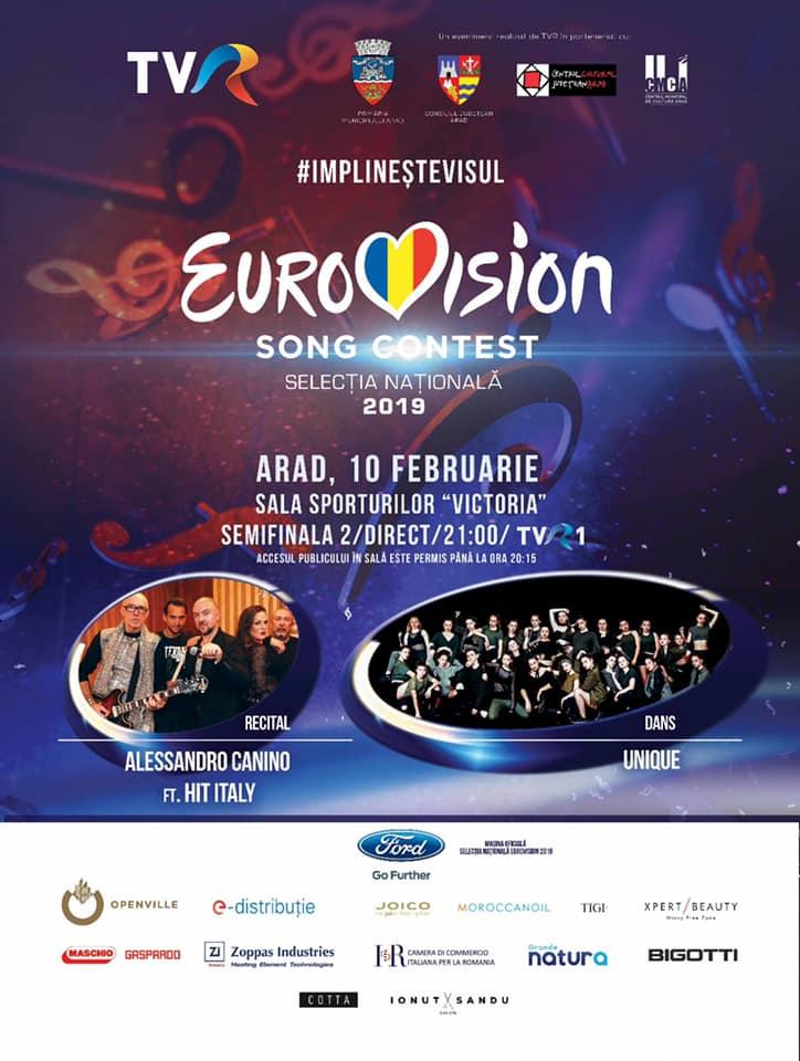 Eurovision Romania se muta la poalele Zarandului